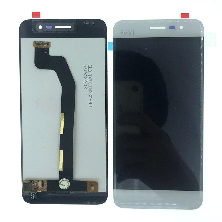 Auf Lager 100% Getestet 4,7 zoll Weiß lcd Für Coolpad Torino S E561 Display + Touch Panel Digitizer Glas + Spurhaltungszahl