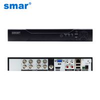 Smar Newest 8Ch Full AHD TVI CVI 1080N 720P 960H CCTV Home Security AHD DVR With