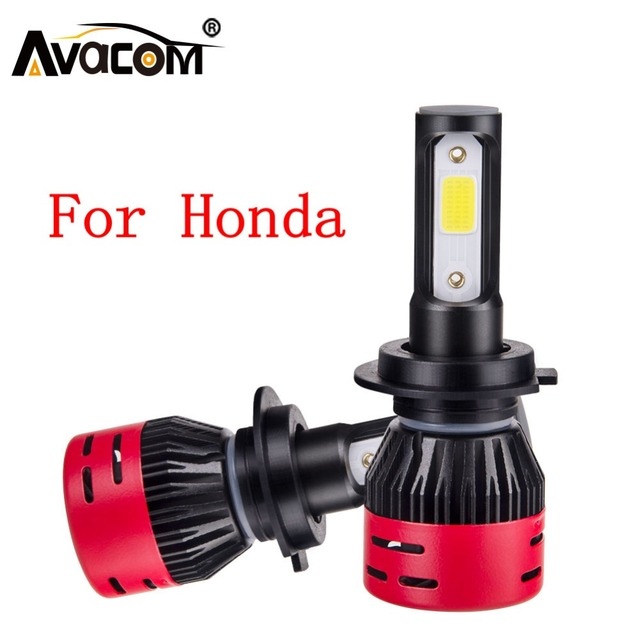 LED Auto Headlamp For Honda Accord City Civic CR-V Odyssey Insight 12V LED H1 H4 H7 H11 9005/HB3 9006/HB4 Car Headlight Bulb