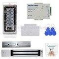 DIYSECUR RFID A Prueba de agua Kit Sistema de Control de Acceso de la Puerta + 280 KG Cerradura Magnética A Prueba de agua + ID Cards
