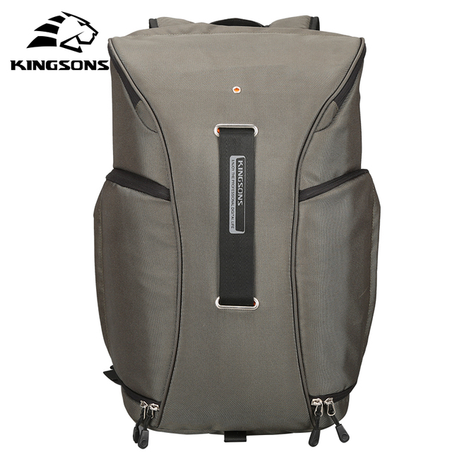 Kingsons Waterproof Air Cell Cushioning Camera Backpack 15.6 inch Black Army  Green Double Shoulder Travel Bag KS3157W ef0d5dd893f53