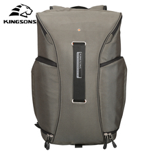 Kingsons Waterproof Air Cell Cushioning Camera Backpack 15.6 inch Black Army Green Double Shoulder Travel Bag KS3157W