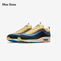 Max Sosa New 97 Sean Wotherspoon Men Running Shoes Top 97s Women Vivid Sulfur Multi Yellow Blue Hybrid Sports Sneakers 36 45