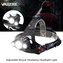 Rechargeable 10000LM 3 x T6+2R5 LED Adjustable Bicycle Bike Headlamp Zoomable Waterproof Headlight Light Head outdoor Lamp Torch bike bicycle xml t6 led headlamp headlight zoomable adjustable head light page 7