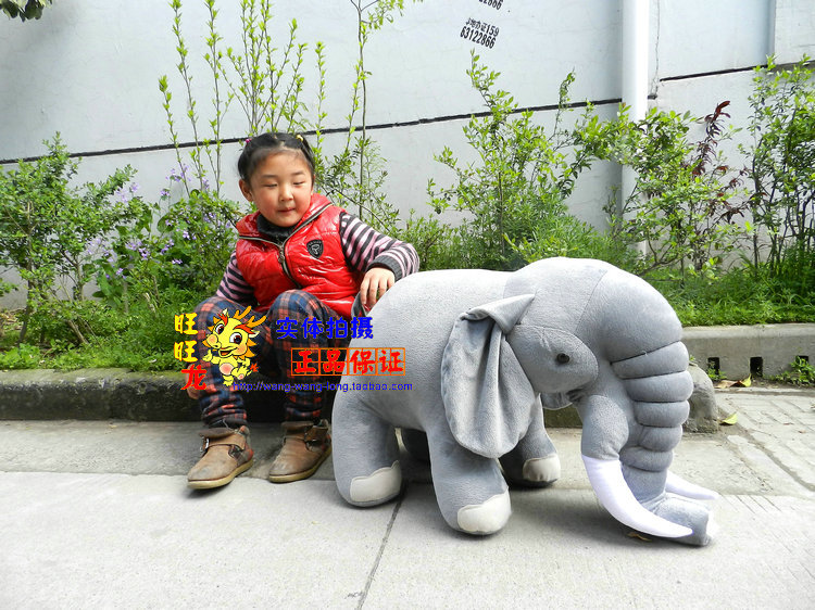 stuffed animal 70cm simulation elephant  gray plush toy doll w662 stuffed simulation animal snake anaconda boa plush toy about 280cm doll great gift free shipping w004