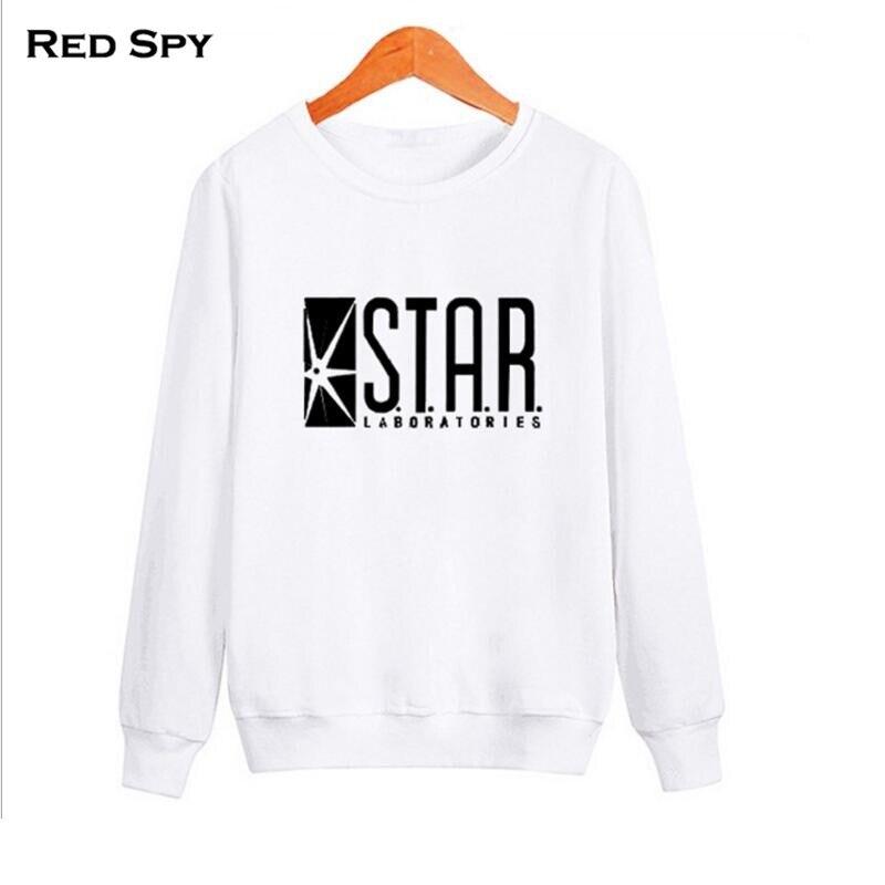 Flash Barry Allen Star Lab Labs Black Color Mens Sweatshirt Men Novelty hoodies Pullover 2017 Male Clothes Arrow Friend