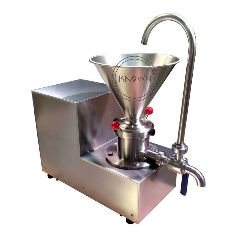 2017 the best selling 2200W colloid mill /homogenizer/crusher split type peanut butter with CE certification free shipping
