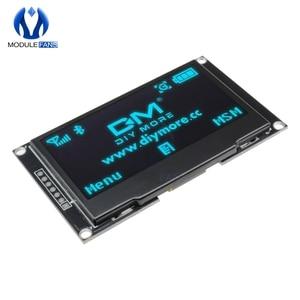 """Image 4 - Pantalla LCD Digital de 2,42 """"y 2,42 pulgadas Módulo de pantalla OLED C51, 12864x64, placa para Arduino, verde, amarillo, blanco y azul, SSD1309 STM32"""
