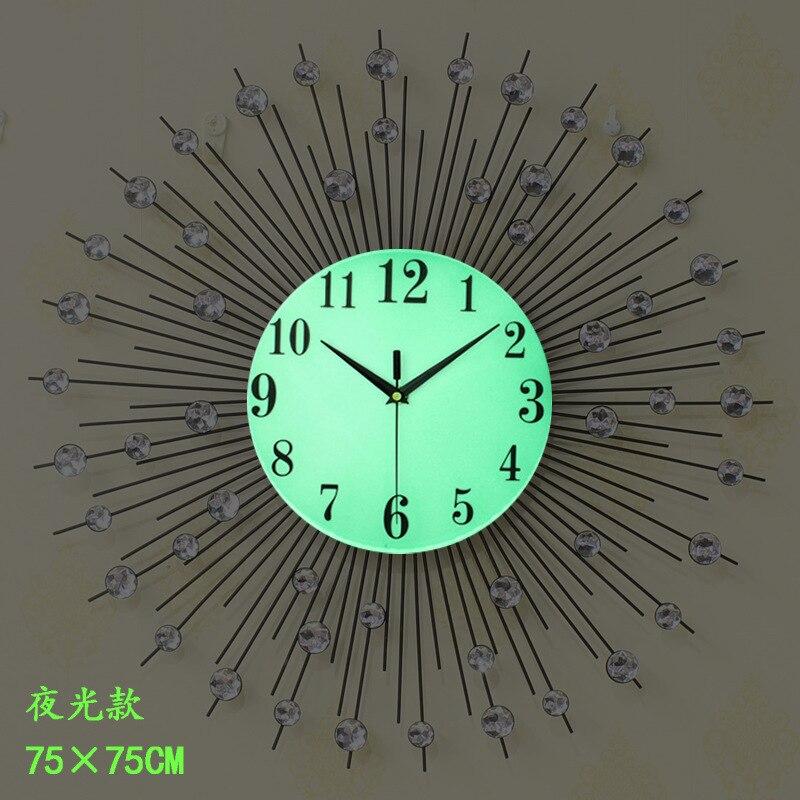 Meijswxj Lager Horloge Murale Reloj Saat Horloge Duvar Saati Horloge Murale lumineuse numérique horloges murales Relogio de parede décor à la maison - 3
