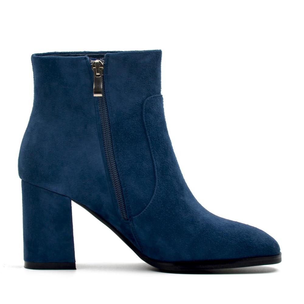 DONNA-IN Botas de cuero genuino para mujer Botines de cuero de ante - Zapatos de mujer - foto 2