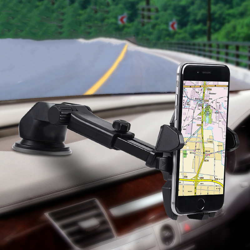 ZUANDUN Car Styling Car Dashboard Adjustable Phone Holder GPS Stand Universal For IPhone 7 7 Plus