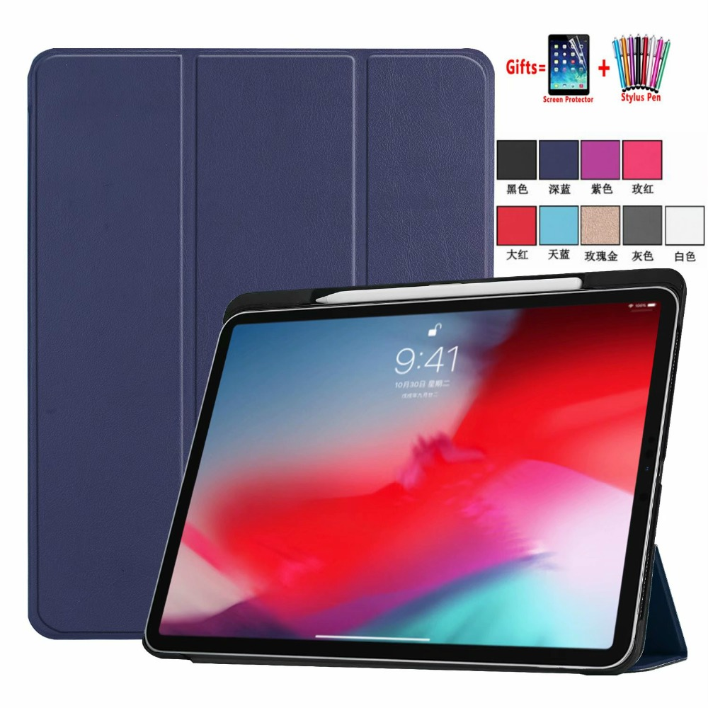 iPad Pen-Slot with Bluetooth Generation Keyboard-Stand Cover For Detachable Funda-Case