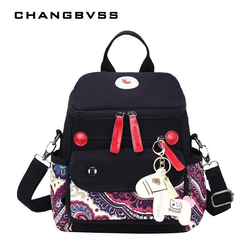 2pcs Mom Diaper Backpack With Detachable Handbag Baby Nursing Bag Women Travel Backpacks Maternity Stroller Bag Bolso Maternal