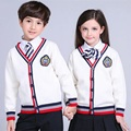 Brand New 2017 Unisex Badge Long Sleeves Girls Sweater Kids Cardigan Sweaters Teenage Boys Baby Girl Coats And Jackets JW1272
