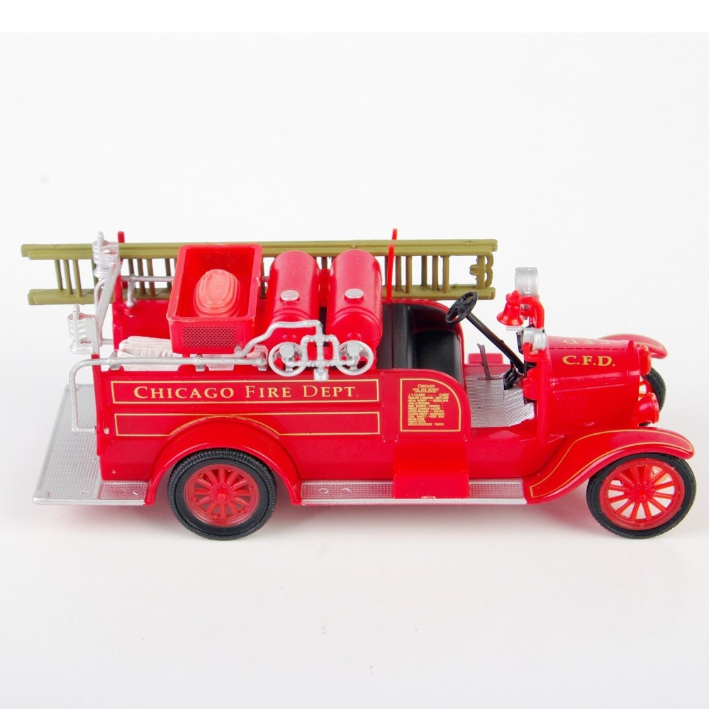 Online coloring fire truck - 1 72 1926 Model T Fire Truck Usa Diecast Fire Truck Model Red Color