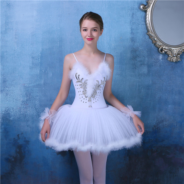 7c2356440d Femenino Ballet vestido adulto Ballet Tutu danza lago de los cisnes  bailarina Vestidos Niñas vestido Ballet