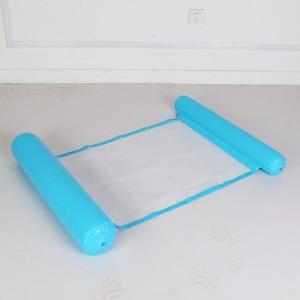 Image 4 - Надувной лежак для бассейна, надувной лежак с плавающей водой, летняя игрушка, надувной лежак, 2019
