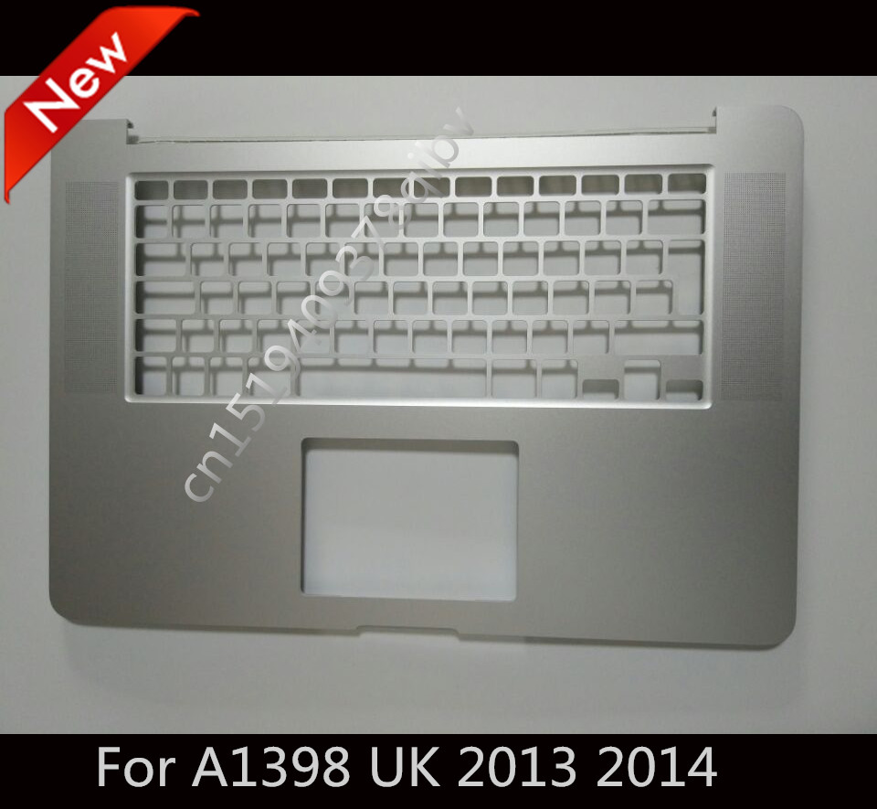 New For MacBook Pro 15 Retina A1398 UK EU Top case Palmrest topcase Without Keyboard 2013 2014 original new a1502 top case with keyboard uk version for macbook pro retina 13 2013 2014