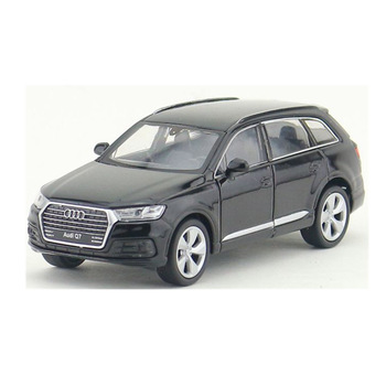 WELLY 1/36 Scale Car Toys AUDI Q7 SUV Diecast Metal Pull Back Car Model Toy For Gift/Kids/Collection image