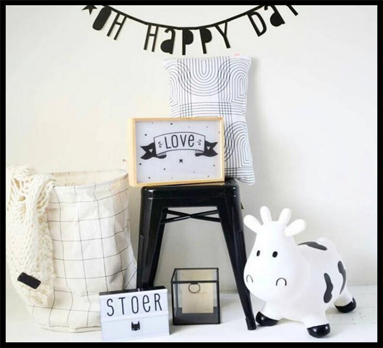 English alphabet letter number symbol removable no for Baby room decoration letters