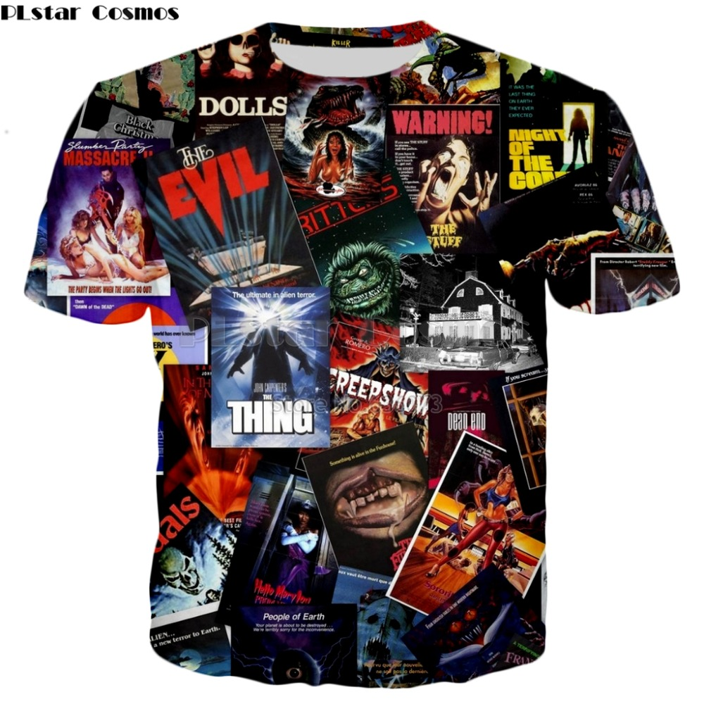 Buy horror movie 3d t shirt and get free shipping on AliExpress.com 65ab08449