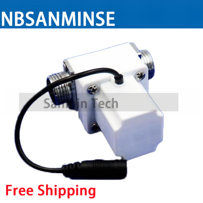 NBSANMINSE SM308B2 G1 2 Pulse Solenoid Valve positive pulse open Induction sanitary ware bathroom faucet in Valve from Home Improvement