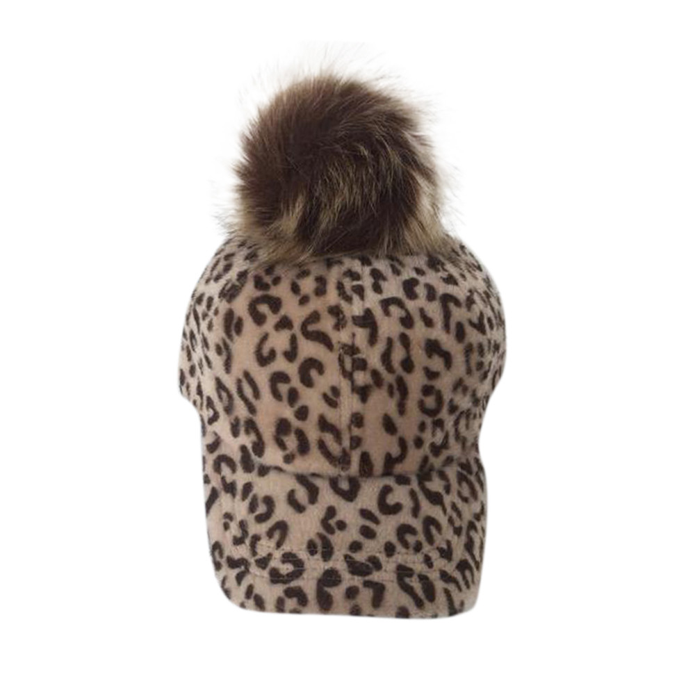 Warm Wool Hot Sales High Quality Leopard Fashion Autumn And Winter Parent-child Hat Leopard Velvet Cap USPS Dropshipping