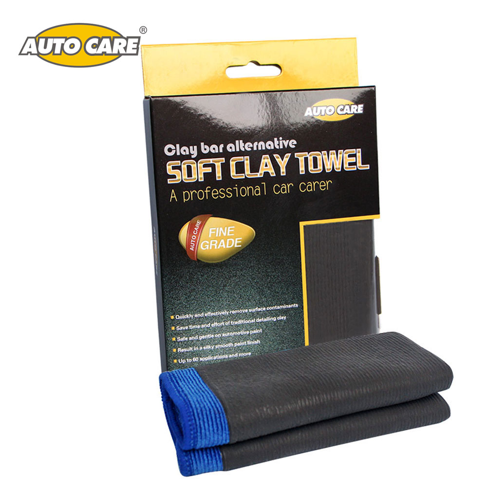 AutoCare Car Detailing Clay Cloth Magic Shine Clay Mitt Towel Microfiber Cleaning Clay Polishing Tool Car