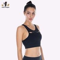 AP Women Sport Bra Top Breathable Yoga Bra Push Up Quick Dry Padded Bra Sexy