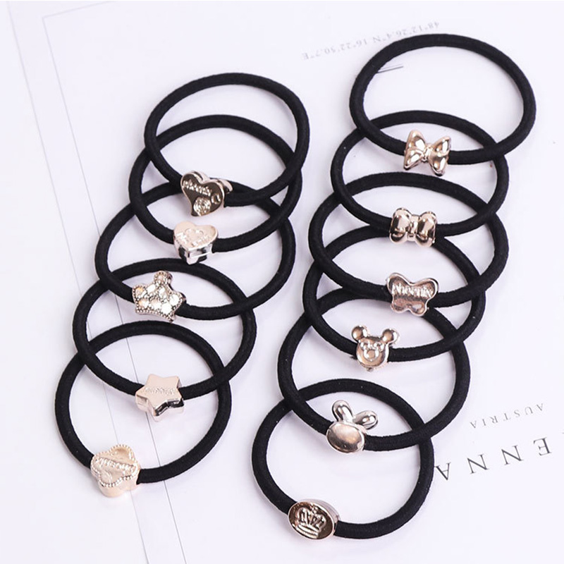 xysnldnl Hair Accessories Elastic Hair Bands Hair Rope