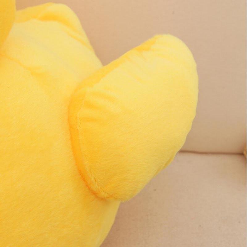 GGS 20cm 30cm Big Yellow Duck Stuffed Animals Plush Toy, Cute Big - Boneka dan mainan lunak - Foto 4