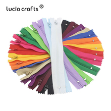 6/14/15PCS  20cm Length Colorful Nylon Coil Zippers Tailor Garment Sewing Handcraft DIY Materials Accessories J0308