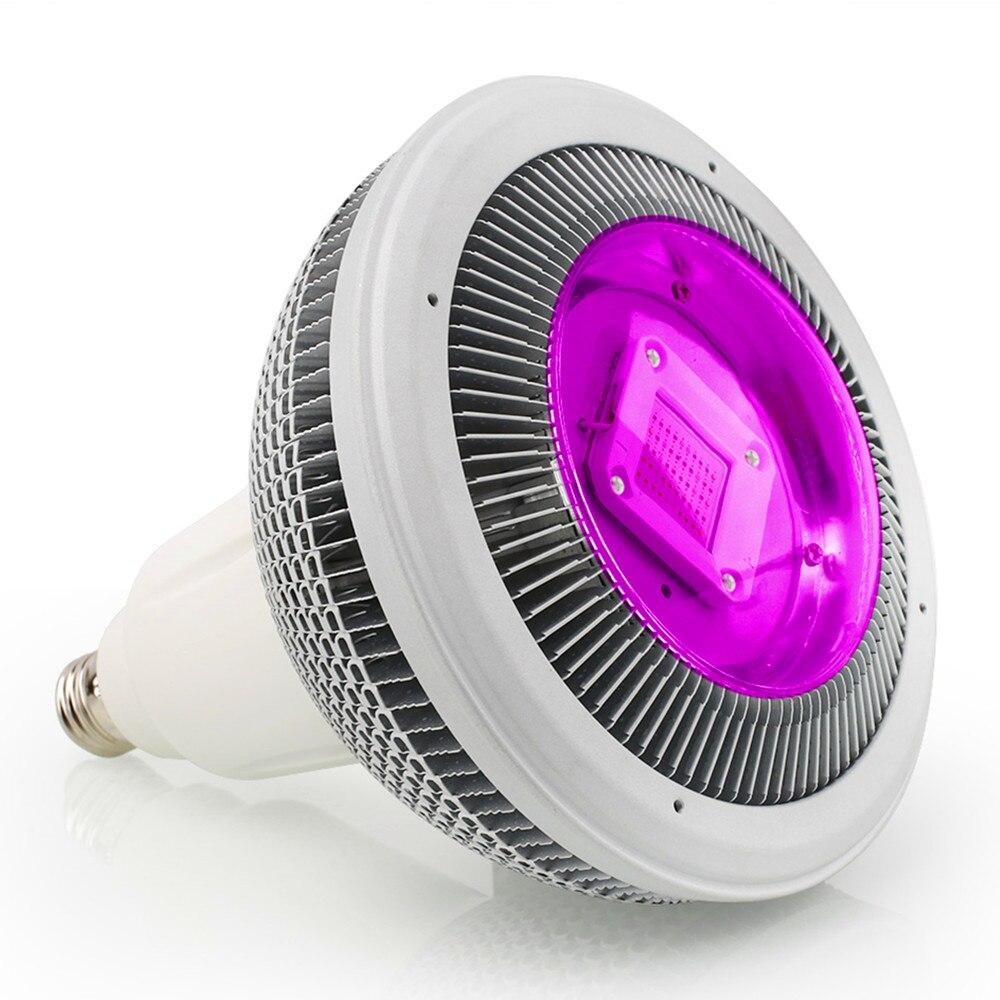 Le plein spectre E27 150 W COB LED élèvent la lumière pour le système hydroponique élèvent la lampe d'intérieur de tache de croissance d'herbe végétale de fleur de plante d'intérieur de tente