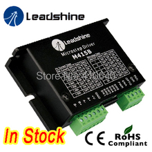Leadshine M415B 2-Phase Stepper Drive with 18-36 VDC Voltage  and 0.21-1.5A Current high quality leadshine 2 phase digital stepper drive 3dm583 work 24v 50 vdc out 2 1a to 8 3a
