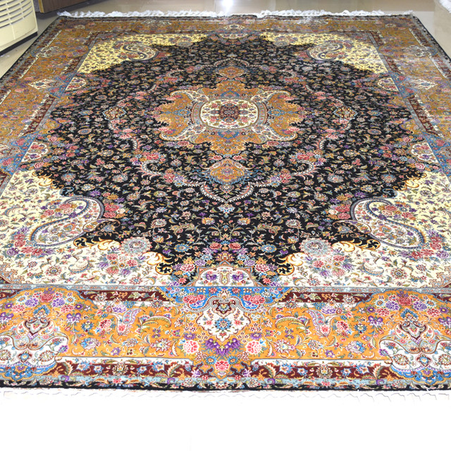 carpet design. Mingxin 9x12 Feet Flower Persian Carpet Design Traditional Hand Knotted Handmade Silk Carpets Oriental Kashmiri Rug Tapete