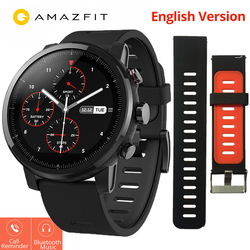 Xiaomi Huami Amazfit Stratos 2 Amazfit Pace 2 Smartwatch with GPS PPG Heart Rate Monitor 5ATM Waterproof