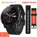 Xiaomi Huami Amazfit Stratos 2 Amazfit ritmo 2 Smartwatch con GPS PPG Monitor de ritmo cardíaco 5ATM impermeable