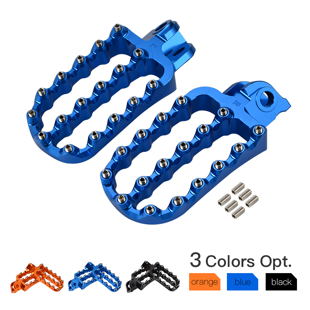 Wide Footrests Footpegs Foot Pegs Rests Pedal For Husqvarna 701 Enduro Supermoto Enduro701 2016 2017 2018 2019 For KTM 990 ADVWide Footrests Footpegs Foot Pegs Rests Pedal For Husqvarna 701 Enduro Supermoto Enduro701 2016 2017 2018 2019 For KTM 990 ADV