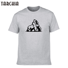 TARCHIA 2016dicks out harambe cotton tops tees men short sleeve boy casual homme tshirt t plus free shipping New arrive fashion
