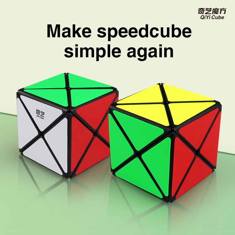 Newest Original Qiyi X-shaped Magic Cube Puzzle Professional 3x3x3 X Shape Mofangge Cube Puzzle XMD Educational Cubo Magico Toys