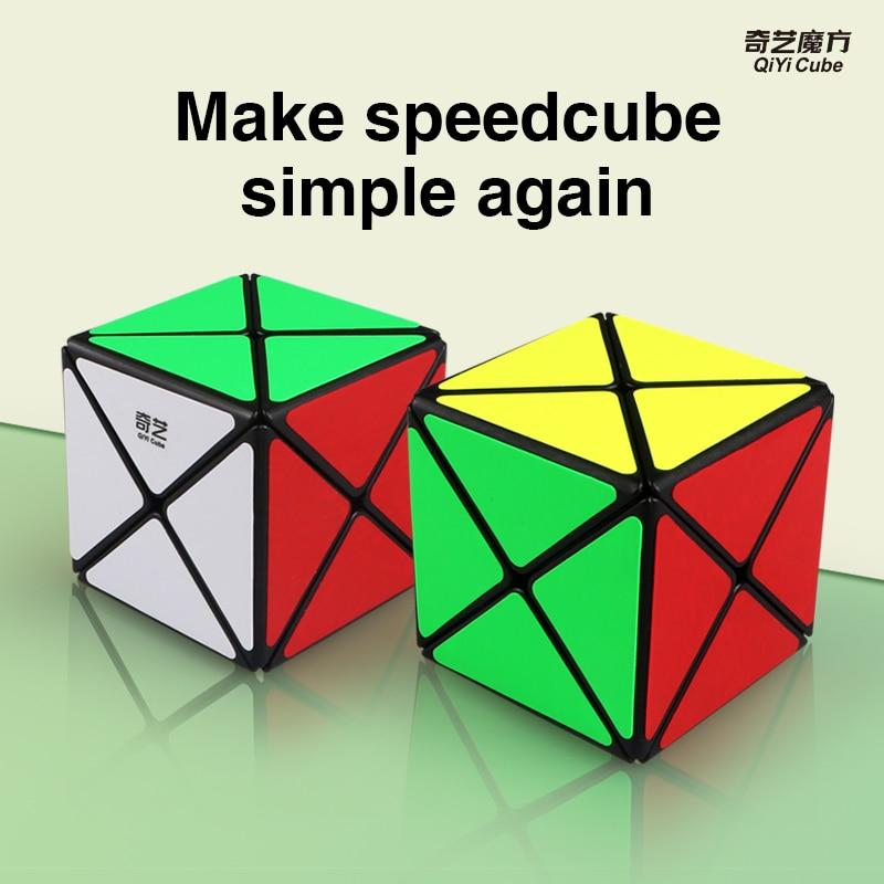 Newest Original Qiyi X-shaped Magic Cube Puzzle Professional 3x3x3 X Shape Mofangge Cube Puzzle XMD Educational Cubo Magico Toys