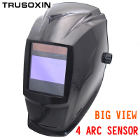 Out Control Big View Eara 4 Arc Sensor Solar Auto Darkening TIG MIG MMA Welding Mask