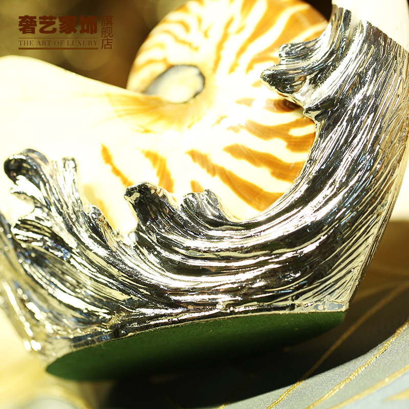 New Zealand Natural Shell Mussel Swan Ornaments Crafts Home