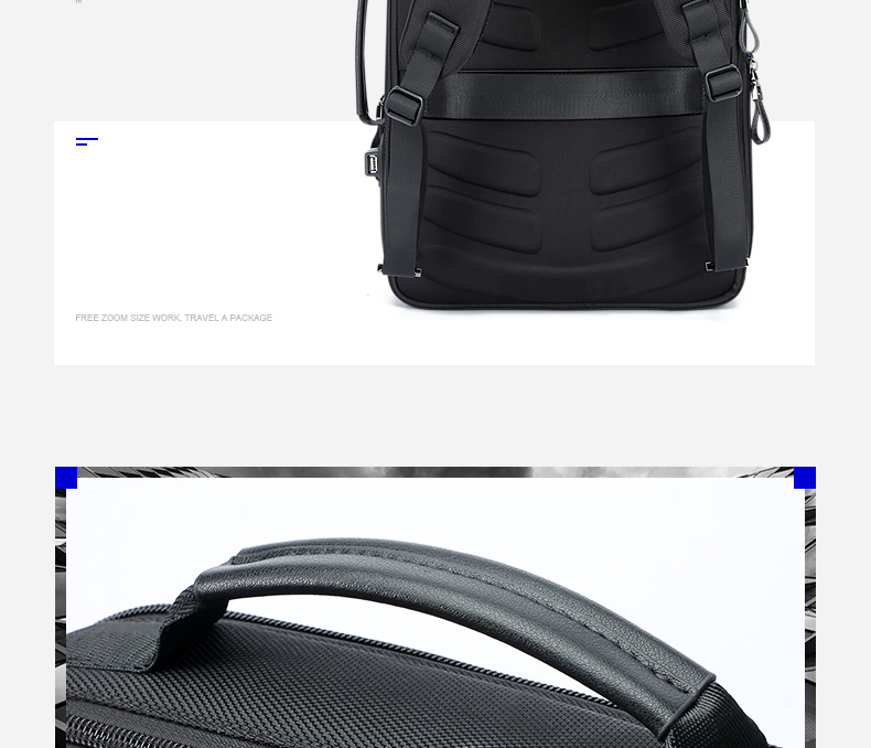 BOPAI Brand USB External Charge Backpack Laptop Bag Shoulders Men Password  Lock Anti-theft Backpack Waterproof Laptop BackpackUSD 56.69 piece d5706cfd4a42a