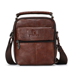 IMIDO new arrival genuine leather mini shoulder bag casual cross body bag men messenger bag business bag цены