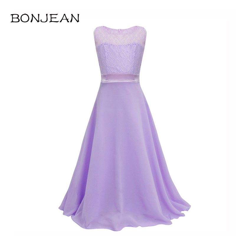 Wedding Party Princess Girl Dress Formal Wear 8 10 12 13 14 15 Years ...