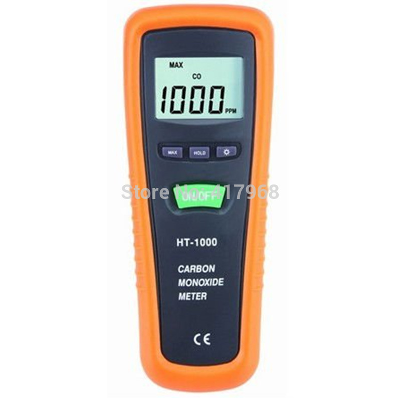 HT-1000 Carbon monoxide detector Gas detector Security Detector gas analyzer CO detector CO meter CO monitor gm8805 portable handheld carbon monoxide meter high precision co gas detector analyzer measuring range 0 1000ppm detector de gas