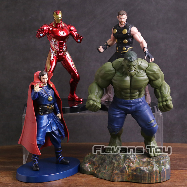 Doutor Estranho Infinito Guerra Homem De Ferro Avengers Thor Hulk PVC Estátua Figura Collectible Toy Modelo