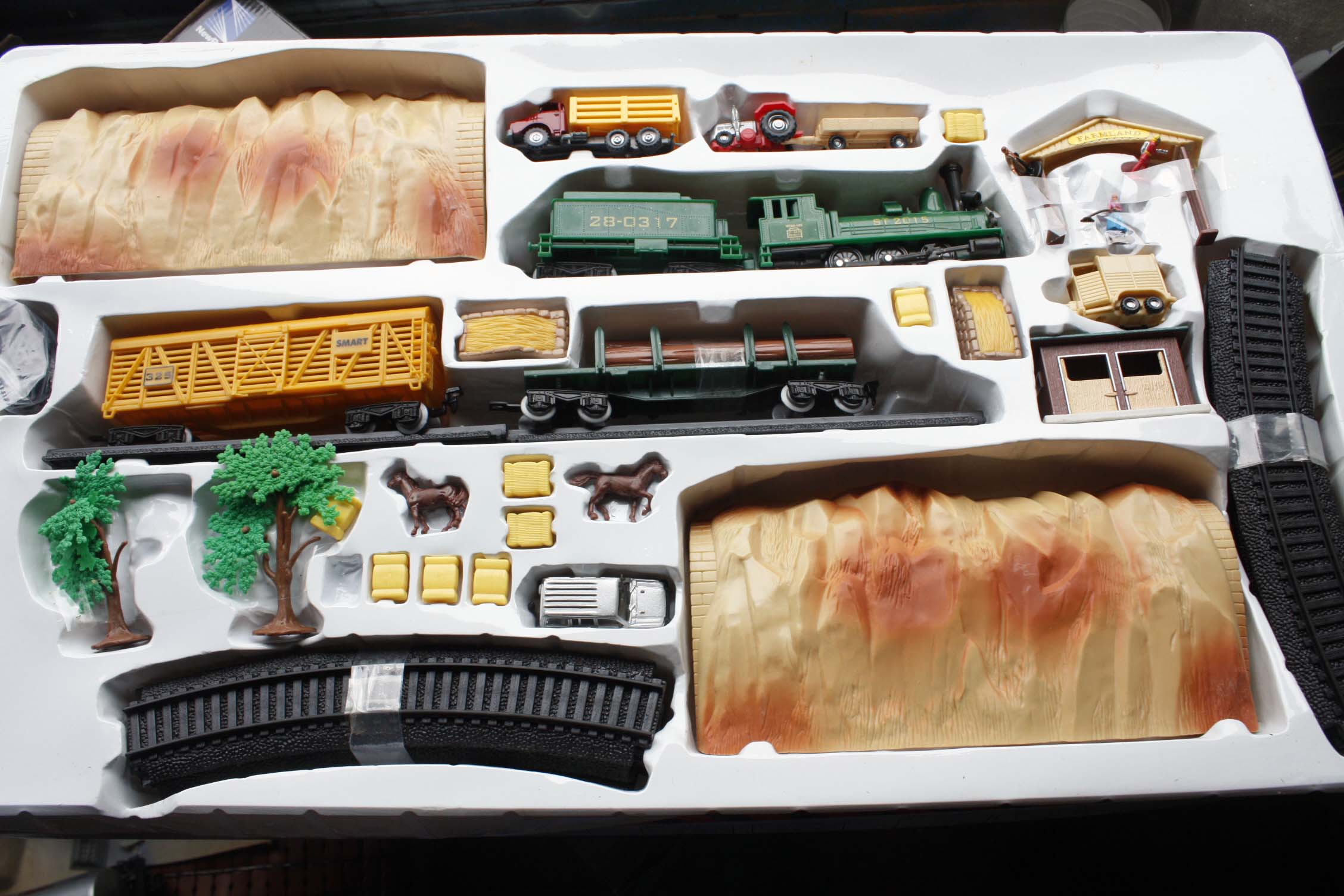 1:87 train ho model accessories Toys model building layout