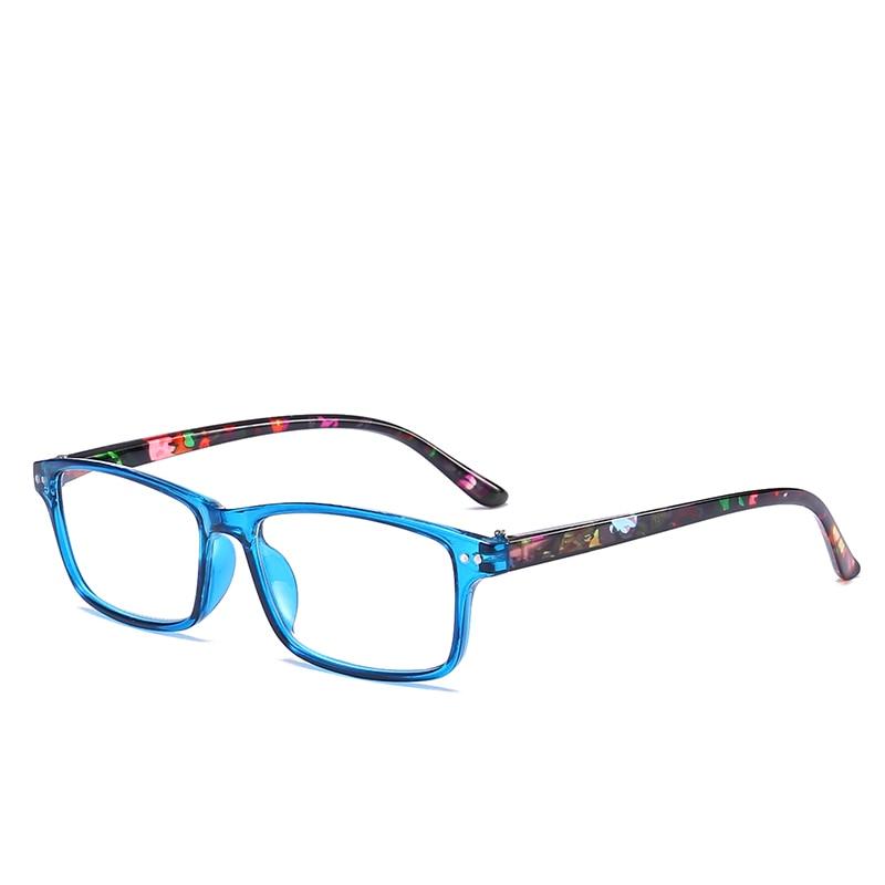 JN IMPRESSION Fashionable retro plastic reflector reading glasses women light weight the original brand ultra long flower T18148